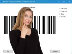Barcode function Key management